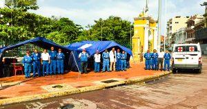 Atención prehospitalaria Cruz Roja Bolívar