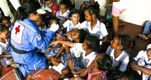 Vacunación Cruz Roja Bolivar