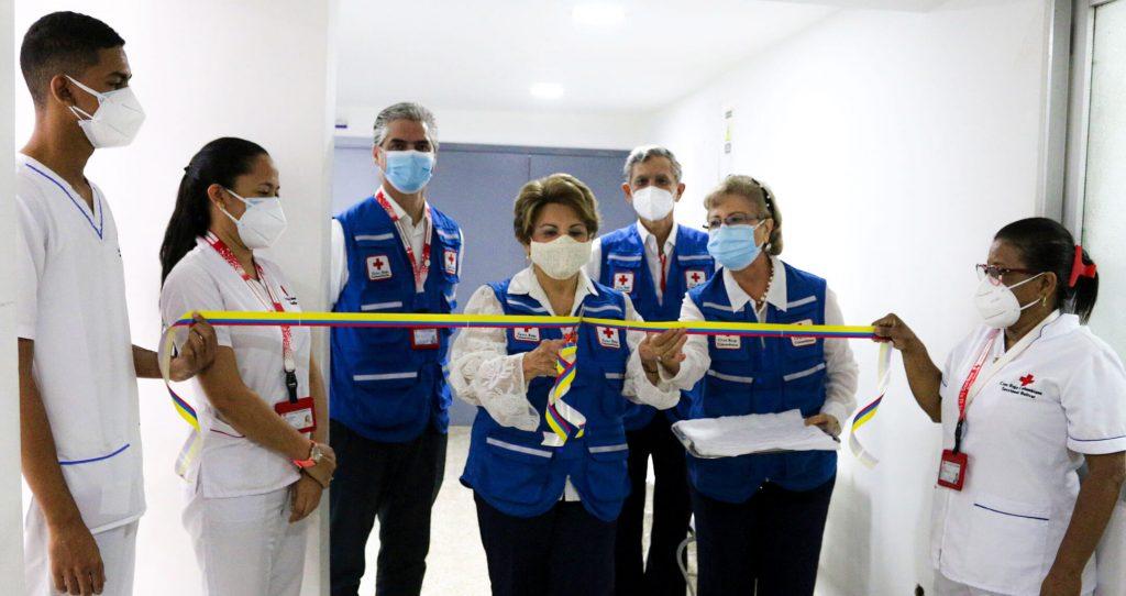 Inauguración de Servicios de Salud Ocupacional y Medicina del Trabajo en la Cruz Roja Colombiana Seccional Bolívar