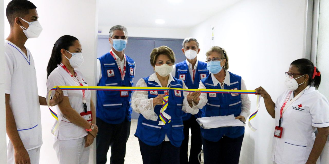 Inauguran nuevos Servicios de Salud Ocupacional y Medicina del Trabajo en la Cruz Roja Colombiana Seccional Bolívar