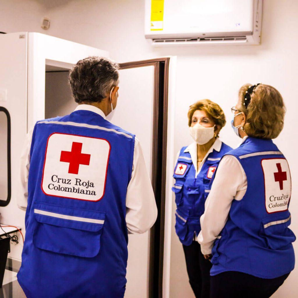 Inauguración Servicios Cruz Roja Bolívar